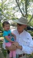 Jim and baby Jessi