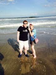 First time at Cocoa Beach