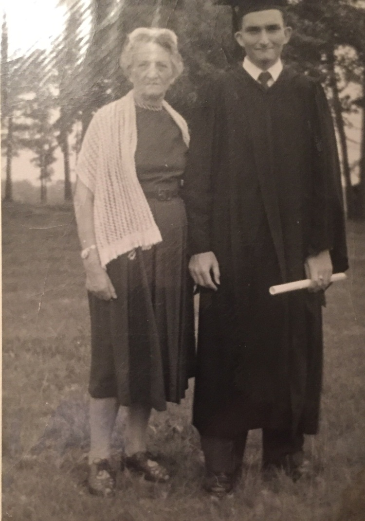 Dad graduation