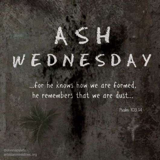 Ash Wednesday image